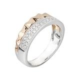 Золотое кольцо с бриллиантами Грани неизвестного