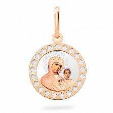 Золотая ладанка Пресвятая Богородица