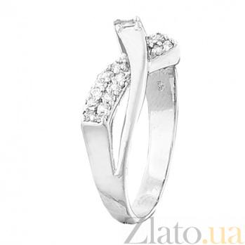 Кольцо из серебра с цирконием Гретхен 000028058