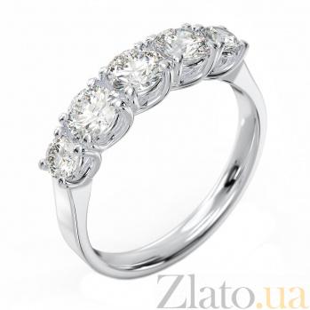 Серебряное кольцо Эстель с фианитами 000082077