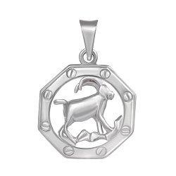 Серебряная подвеска Знак Зодиака Козерог 000039653