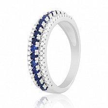 Серебряное кольцо с цирконием Эланор
