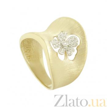 Золотое кольцо с фианитами Эмили 2К765-0035