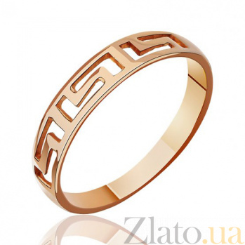 Золотое кольцо Стиль Версаче EDM--КД010