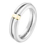 Кольцо в белом и желтом золоте Рианна