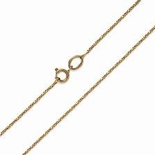 Золотая цепочка Венеция в желтом цвете