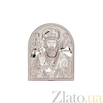 Икона Николай Чудотворец серебро AQA--13132221