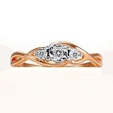 Кольцо из золота с бриллиантами Арвен