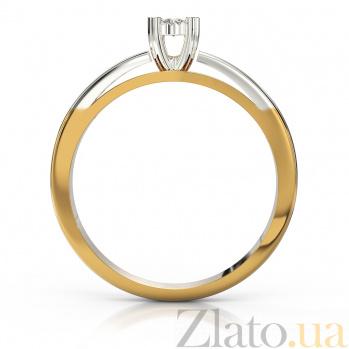 Золотое кольцо с бриллиантами Увертюра VLA--15240