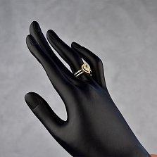 Золотое кольцо Нариман с бриллиантами