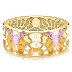 Золотое обручальное кольцо Талисман: Счастья 000009980