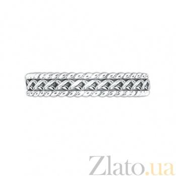 Золотое обручальное кольцо Центр вечных сил 000029714