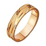 Золотое обручальное кольцо Созвучие душ