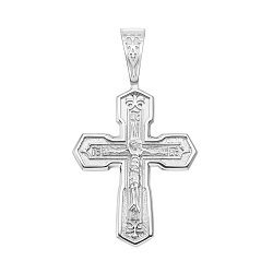 Серебряный крестик 000146909