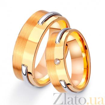 Золотое обручальное кольцо Счастливый век TRF--421697