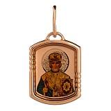 Золотая ладанка Св. Николай
