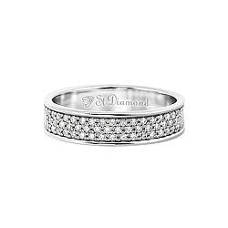 Золотое кольцо с бриллиантами Объятия рассвета