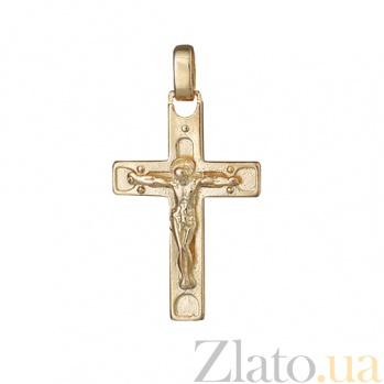 Серебряный крестик Мир 000025232