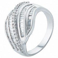 Золотое кольцо Сиятельная Элизабет с бриллиантами