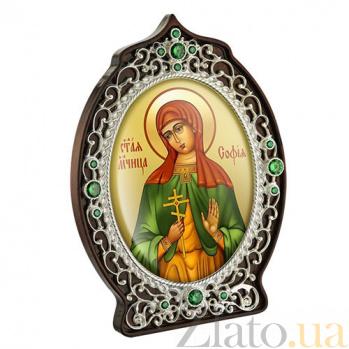 Икона с образом Святой мученицы Софии 2.78.0947л