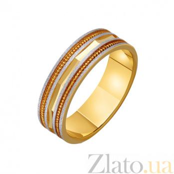 Золотое обручальное кольцо Королева бала TRF--431463