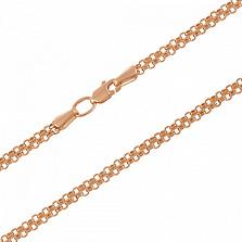 Золотая цепочка Якорная  3.5 мм