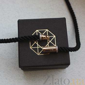 Колье Звезда Эрцгаммы со шнурком, ø 25мм 000013422