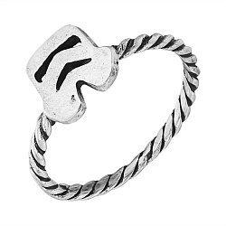 Cеребряное кольцо Stormtrooper с чернением 000103151