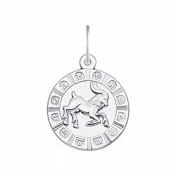 Серебряная подвеска Козерог 000133237