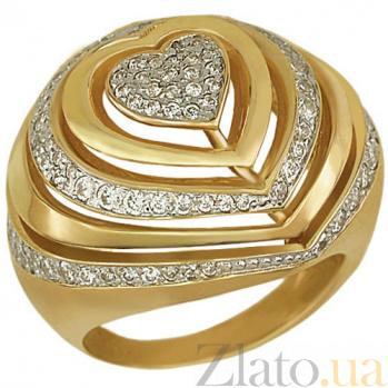 Кольцо из желтого золота Розалинда VLT--Т141-1
