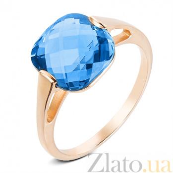 Золотое кольцо с топазом Джесси SUF--140480Пл