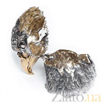 Серебряная шкатулка Король птиц 1281
