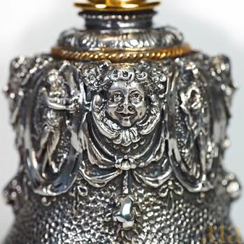 Серебряный колокольчик Античный 1261