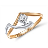 Кольцо из золота с бриллиантом Синди