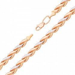 Золотой браслет в комбинированном цвете 000134050