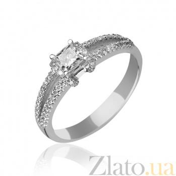 Золотое кольцо Беатрисса с бриллиантами 000045911
