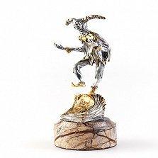 Серебряная статуэтка с позолотой Злой гений