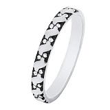 Золотое кольцо Арианта с белыми фианитами
