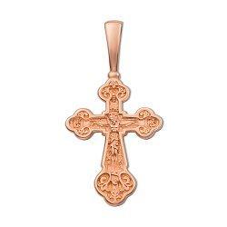 Православный крестик из красного золота 000133513