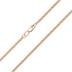 Золотая цепь в красном цвете панцирного плетения, 1,5мм 000101729
