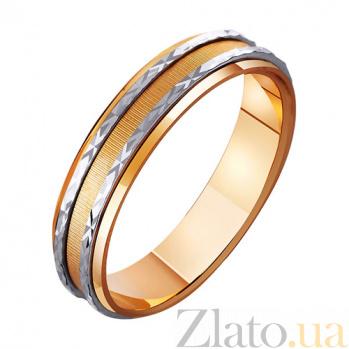 Золотое обручальное кольцо Сказка на двоих TRF--441120