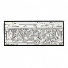 Пластина на деревянной основе Фрукты, 11х5