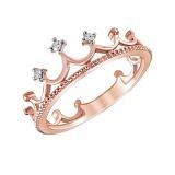 Золотое кольцо Маллика с бриллиантами