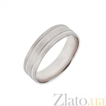 Золотое обручальное кольцо Ангельская любовь TRF--4211090