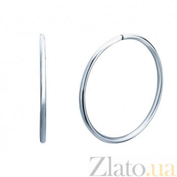 Серебряные серьги Медея AQA--Тс-460003