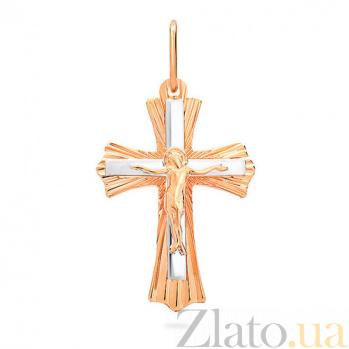 Золотой крестик Чистая любовь SUF--505982кб