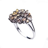 Золотое кольцо Джорджина с бриллиантами