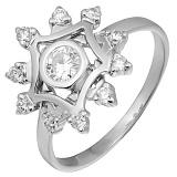 Золотое кольцо с бриллиантами Аделисия