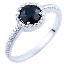 Серебряное кольцо Карима с сапфиром