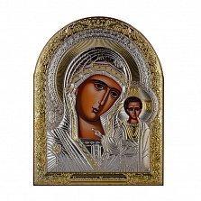 Икона Казанская Божья Матерь на деревянной основе, 20х16см